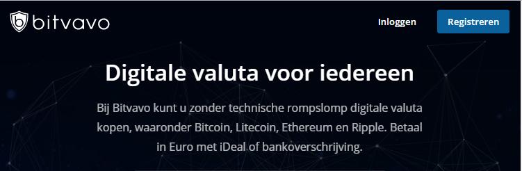 Bitvavo Cryptocurrency Exhange