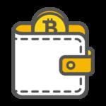 Bitcoin wallet afbeelding